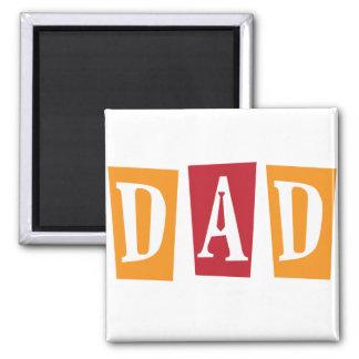 Retro Dad Magnet