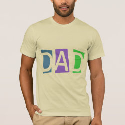 Retro Dad Men's Basic American Apparel T-Shirt