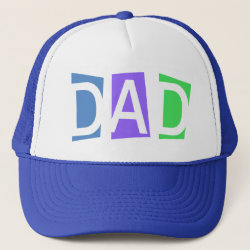 Trucker Hat with Retro Dad design