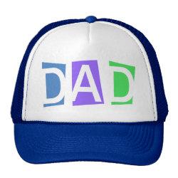 Trucker Hat with Retro Dad design