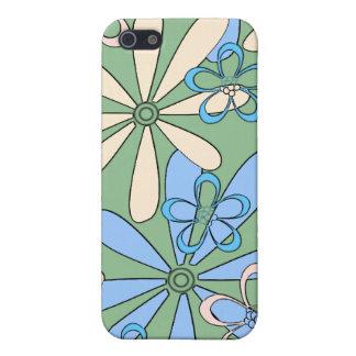 Retro Daisies iPhone 4 case