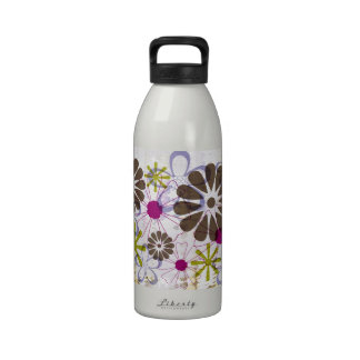 Retro Daisies Liberty Water Bottle