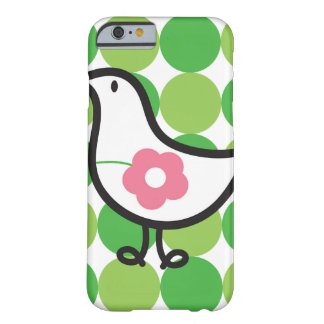 Retro Daisy Baby Chick Bird Whimsical Cute Dots Barely There iPhone 6 Case