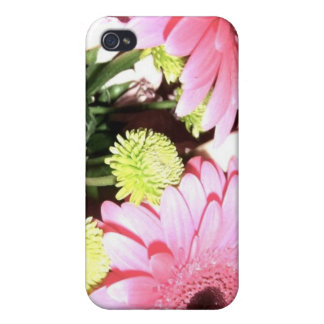 Retro Daisys Cover For iPhone 4
