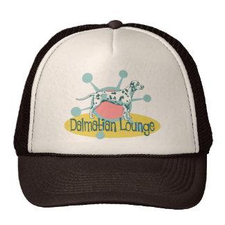 Retro Dalmatian Lounge Trucker Hat