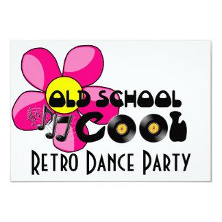 Retro Dance Party - Old School Cool Vinyl Records Card