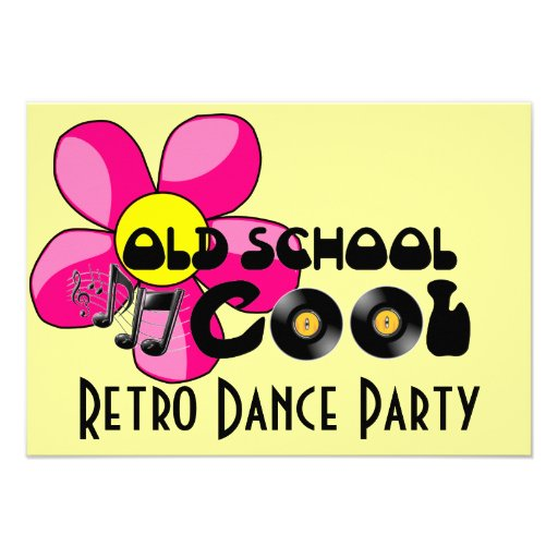 Retro dance party old school cool vinyl records for Cool things to do with old records