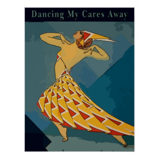 Retro Dancer, Poster