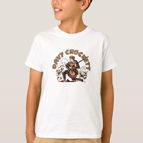 Retro Davy Crockett T_Shirt