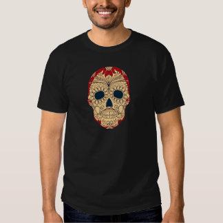 Retro Day of the Dead Sugar Skull Shirt