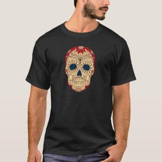 Retro Day of the Dead Sugar Skull T-Shirt