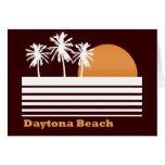 Retro Daytona Beach Greeting Card