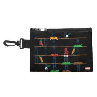 Retro Deadpool Taco Video Game Accessories Bags