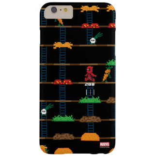 Retro Deadpool Taco Video Game Barely There iPhone 6 Plus Case
