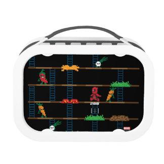 Retro Deadpool Taco Video Game Lunch Box