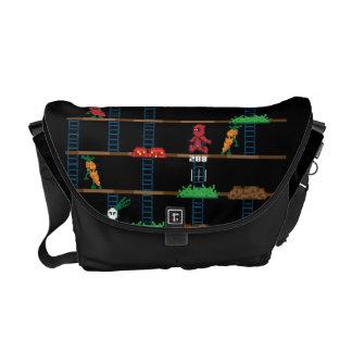 Retro Deadpool Taco Video Game Messenger Bag