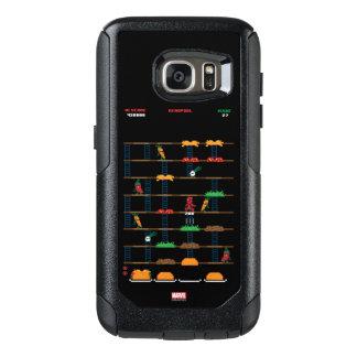 Retro Deadpool Taco Video Game OtterBox Samsung Galaxy S7 Case