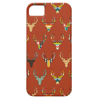 retro deer head russet iPhone SE/5/5s case