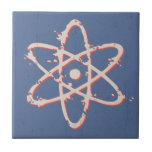 Retro del átomo apenado teja