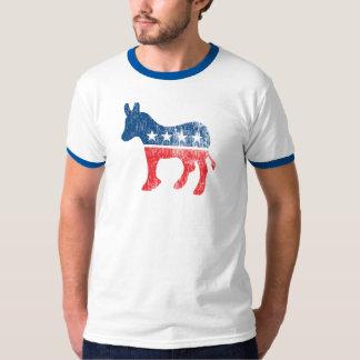 Retro Democrat  Obama 2012  T Shirt