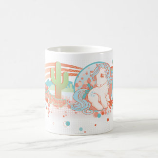 Retro Desert Design Coffee Mug