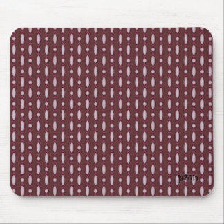 Retro Design Beaded Curtain Brown Mouse Pad