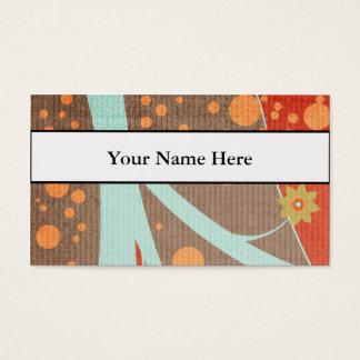 Retro Design Business Or Profile Card