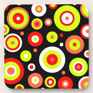 Retro design drink coaster