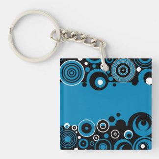 Retro design keychain