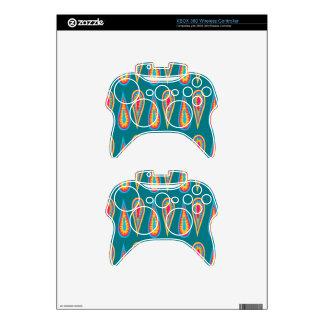 Retro Design on xBox Controller Skin Xbox 360 Controller Skin