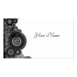 Retro Design  Profile Card Business Cards