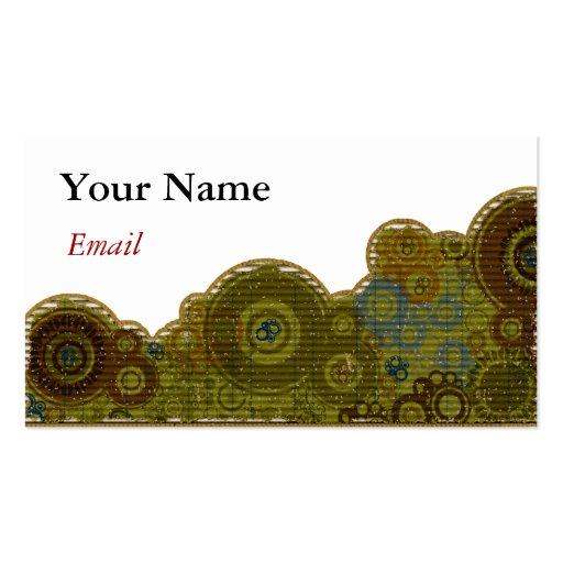 RETRO DESIGNER BUSINESS CARDS