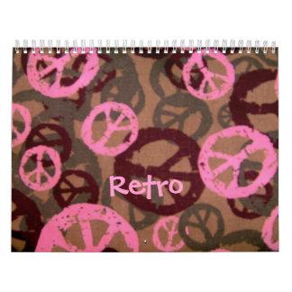 Retro Designs-Calendar Calendar