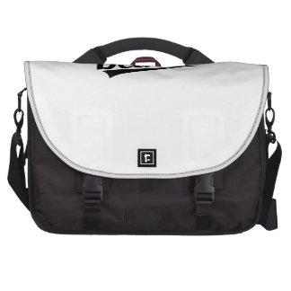 Retro Detroit Logo Laptop Bag
