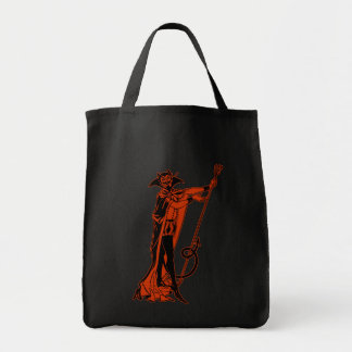 Retro Devil Tote Bag