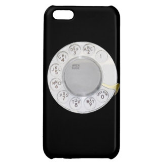 Retro dial phone funny old school telephone mobile iPhone 5C cover