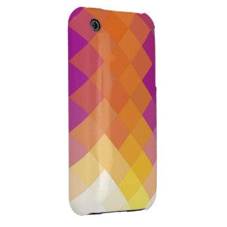 retro diamond seamless abstract art iPhone 3 cases