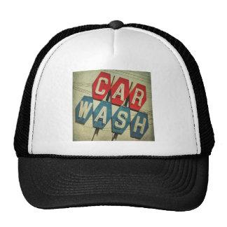 Retro Diamond Shaped Car Wash Sign Hats