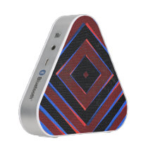 Retro diamond shapes pattern speaker