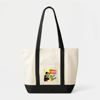 Retro Dine And Dance Tote Bag