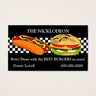 Retro Diner Business Card
