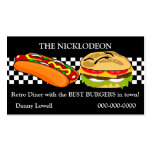 Retro Diner Business Card