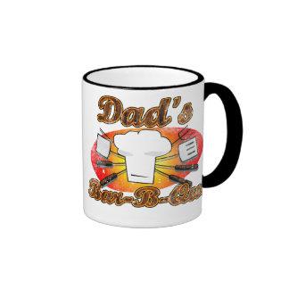 Retro Diner, Dad's Bar-B-Que Coffee Mug