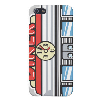 retro diner design case for iPhone SE/5/5s