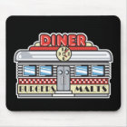 retro diner design mouse pad