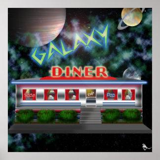 Retro Diner Poster