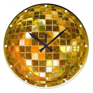 Retro Disco Ball Wall Clock