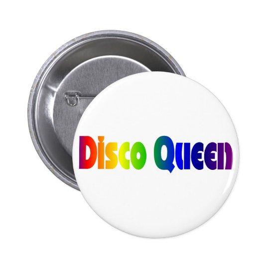 Retro Disco Queen Button