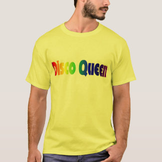 Retro Disco Queen T-shirt