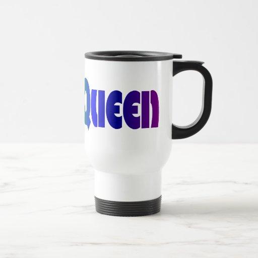 Retro Disco Queen Travel Mug